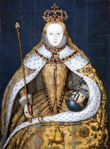 Coronation portrait of Queen Elizabeth I, 1559